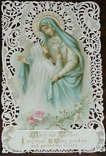Mary our Mother dans immagini sacre